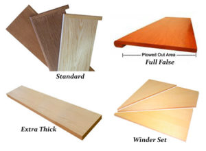 Hardwood stair treads and stair tread caps (Stair Treads Canada)
