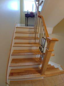 Solid Hardwood Stair Treads